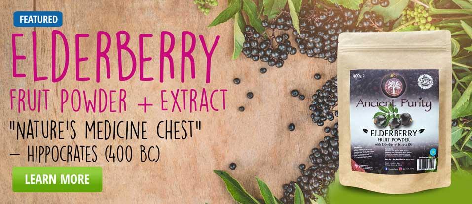 Elderberry Fruit Powder
