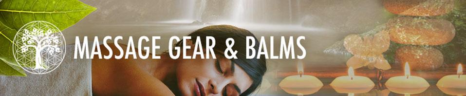 Massage Gear & Balms