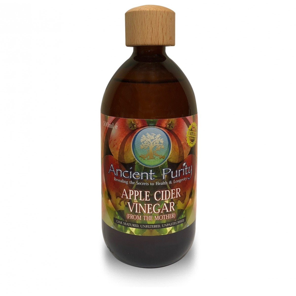 Apple Cider Vinegar - (with The Mother unpasteurised
