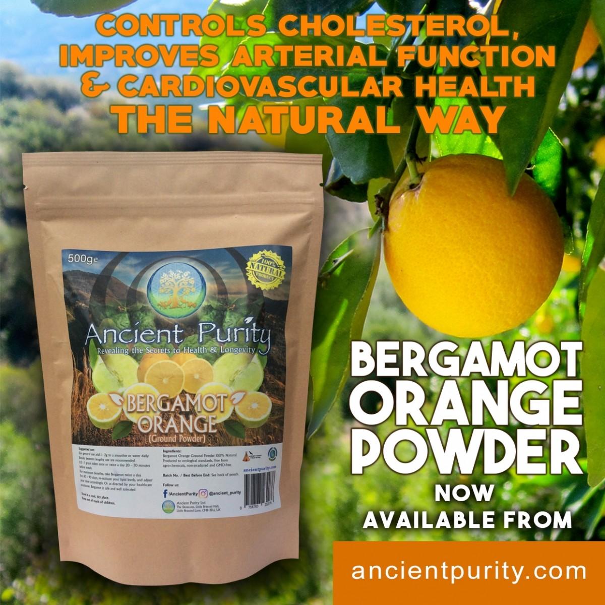 Bergamot Orange Powder 500g Super Natural Powders