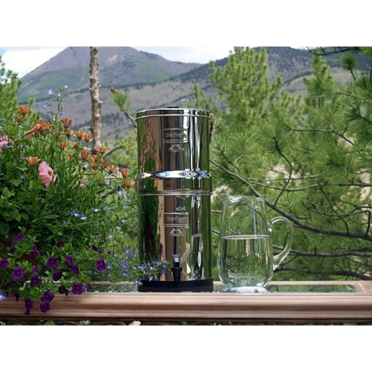 Big Berkey Portable Gravity Water Filter 8 5 L