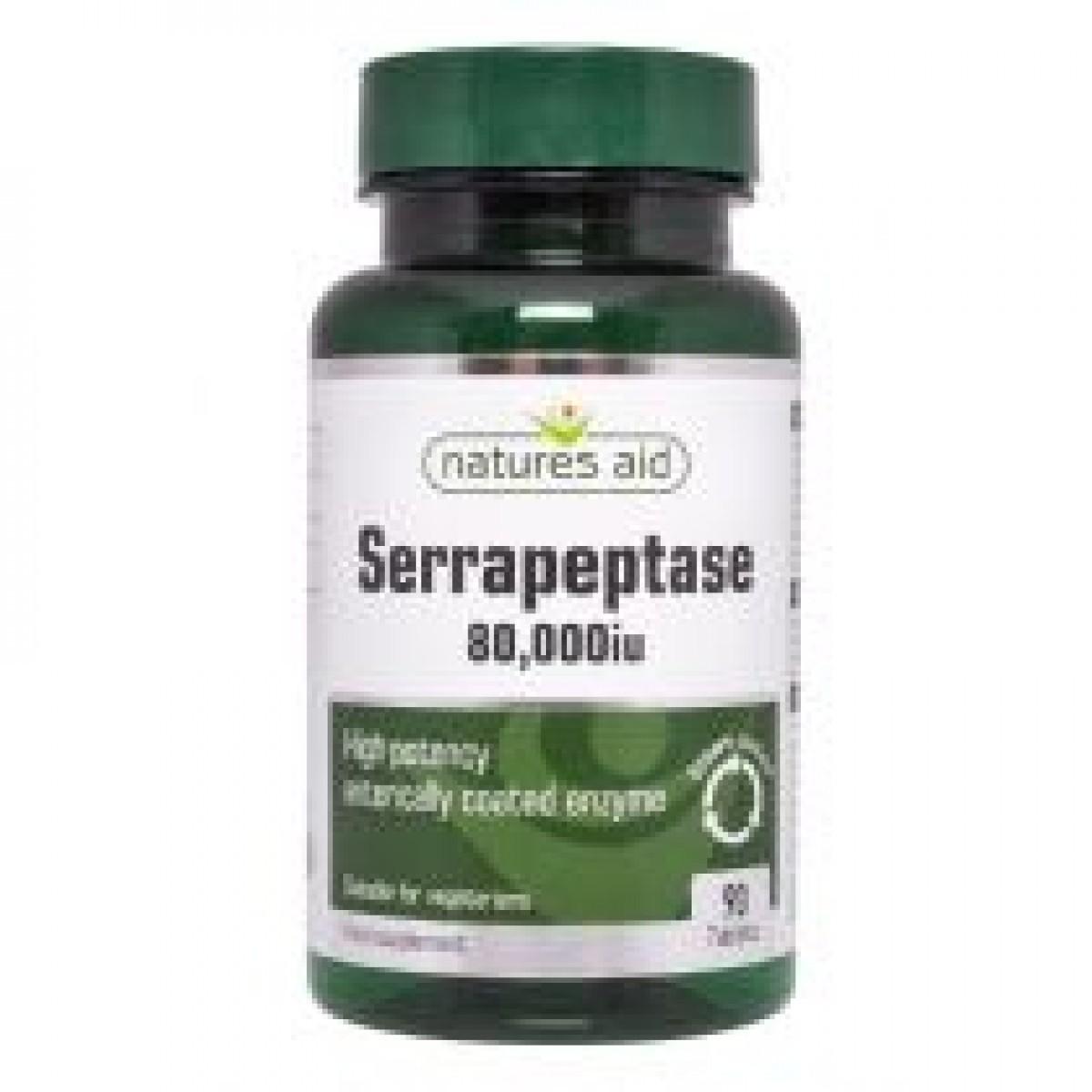 Serrapeptase 80 000iu 90 Tablets 30 Free 120