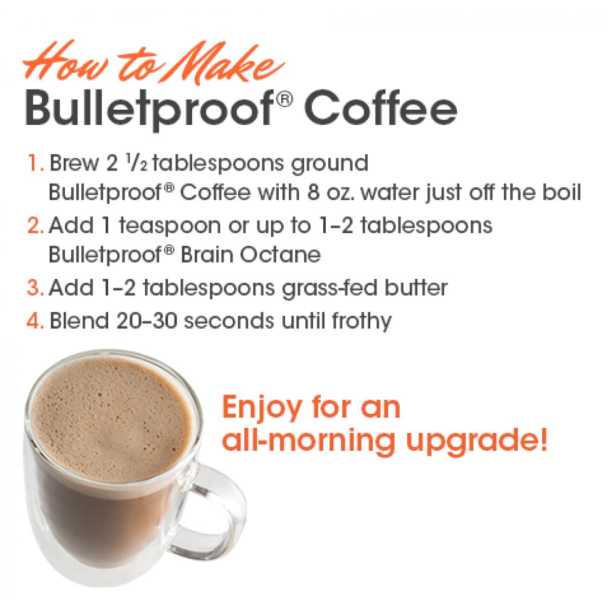 Bulletproof Coffee - Whole Bean Upgraded - 250g/1kg ...