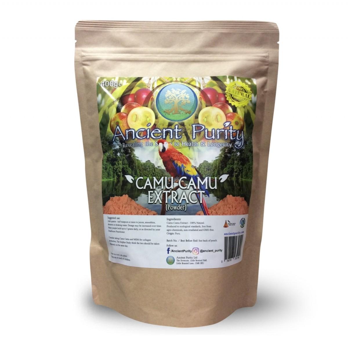 Camu Camu Extract Organic Fruit Vitamin C Ancient