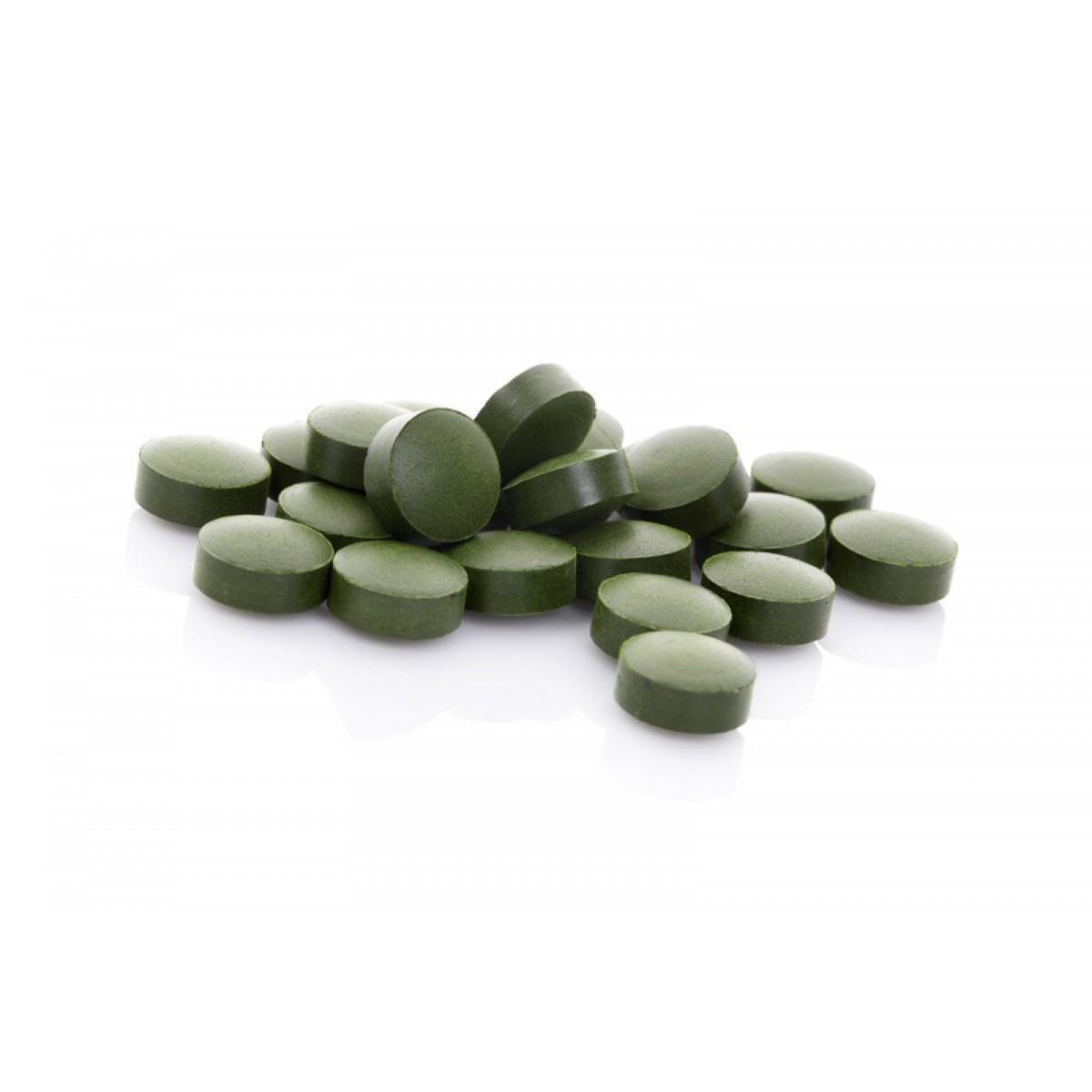 Chlorella Tablets 500mg 250 Tablets Broken Cell Wall