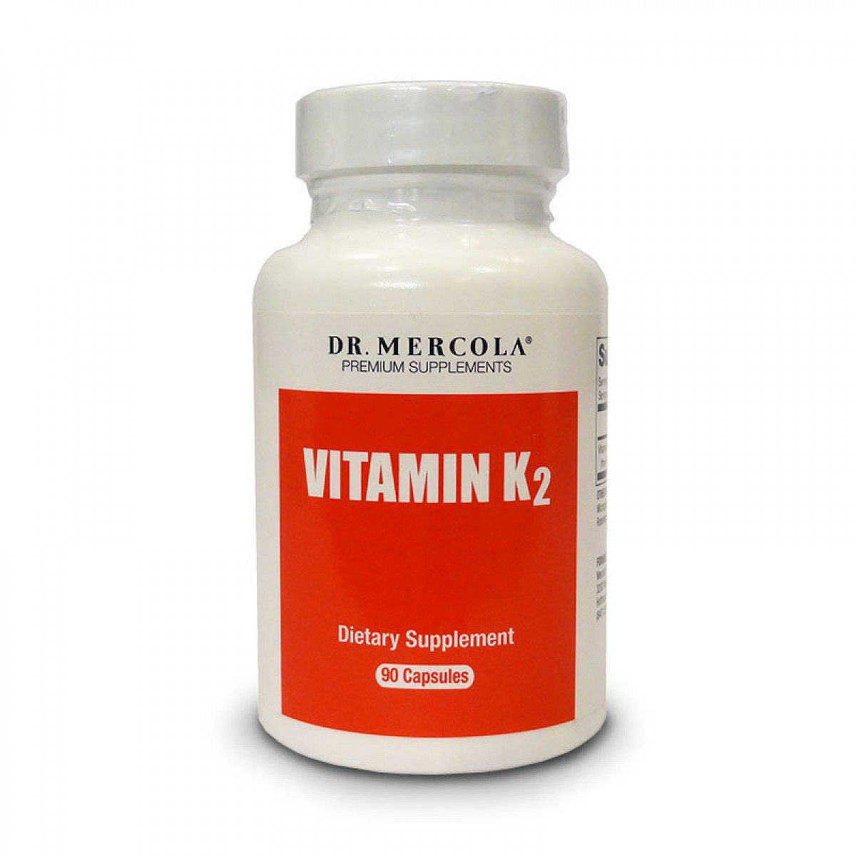 Dr Mercola Vitamin K2 Capsules Fermented Chickpea