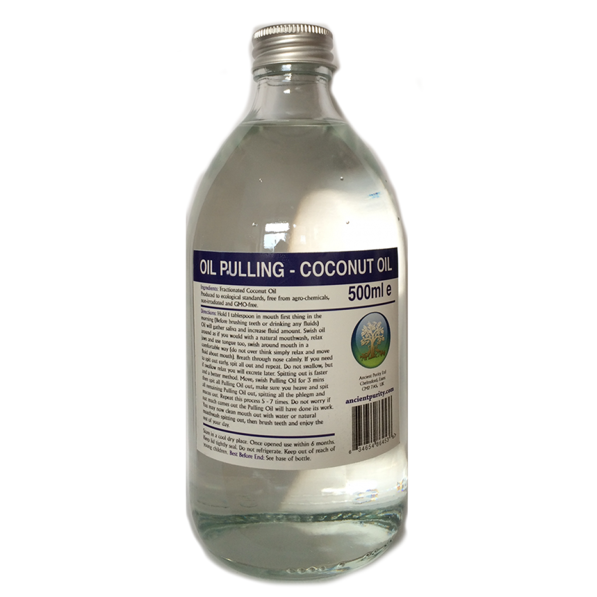 Coconut Oil For Oil Pulling Ancient Purity