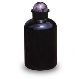 Amethyst Apothecary Jar (Miron Glass) 2L