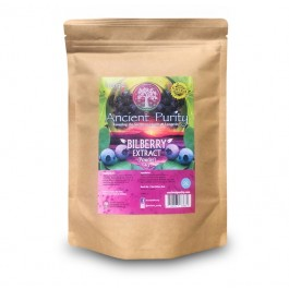 Bilberry Extract (4:1) Powder 4x Stronger (Anthocyanins) 200/400g