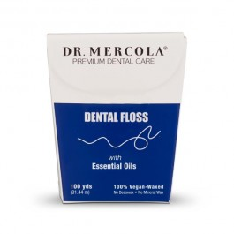 Dental Floss - Natural / Organic - Essential Oils (Dr Mercola)