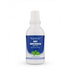 Mouthwash Natural Mint with Tulsi Fresh Breath (Fluoride Free)