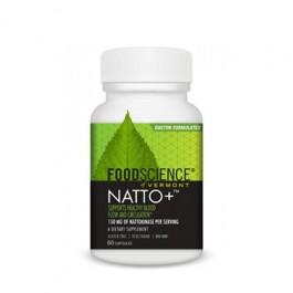 Natto+ (Nattokinase) 60 Caps 150mg - FoodScience