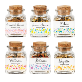 Incense Bottles - 50ml Jar (Dry Incense) 6 Varieties