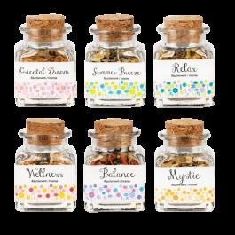 Incense Bottles - 50ml Jar (Dry Incense) 6 Varieties