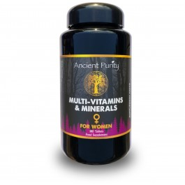 Multi-Vitamins & Minerals - For Women (Ancient Purity) 180