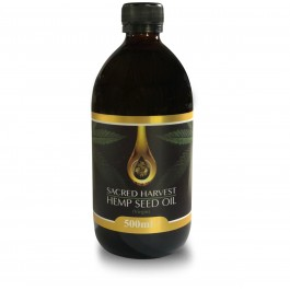 Hemp Seed Oil - Raw/Virgin (Sacred Harvest) 500ml