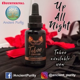"Taboo ""Aphrodisia"" Sexual Tonic (Surthrival) 30ml"
