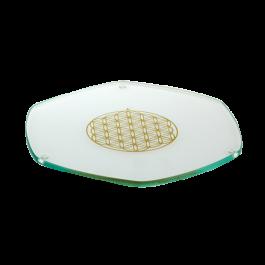 Glass Energy Coaster / Plate - 9cm / 22cm