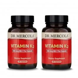 Vitamin K2 (Fermented Chickpea) Dr Mercola - 30/90 Caps