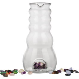 Water Pitcher (Cadus) - 1 Litre Glass Jug