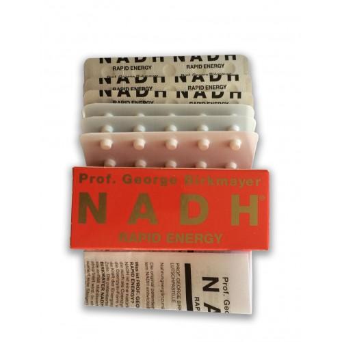 Nadh Rapid Energy 20mg 60 Tablets Cellular Health