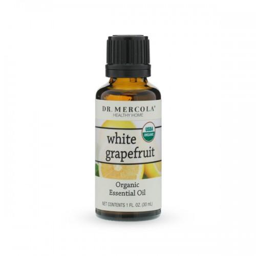 White Grapefruit Essential Oil - 30ml - Organic Essential Oils ...