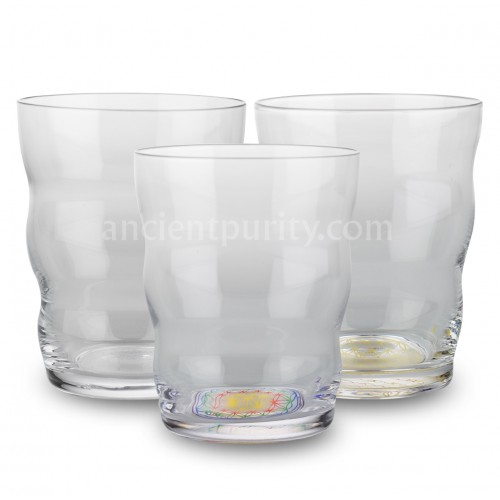 Jasmina Drinking Glass (Flower of Life) 300ml