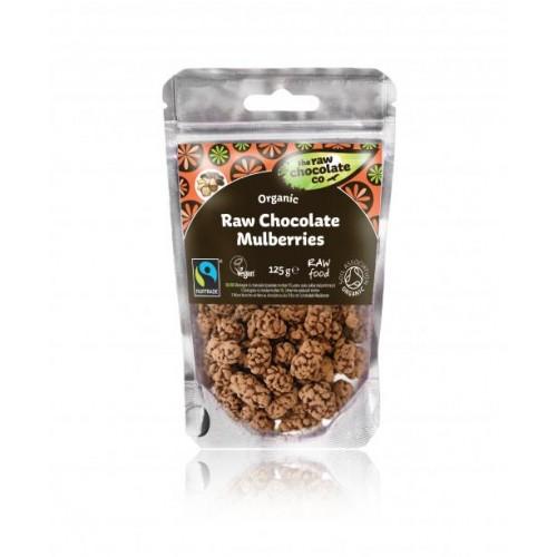 Mulberries - Raw Chocolate (Organic) 125g