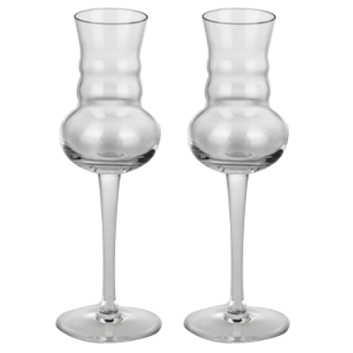 Shot / Wine Glasses Shot-Grappa x 2