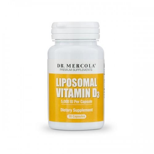 Liposomal Vitamin D3 (5000iu) Dr Mercola - 30 caps