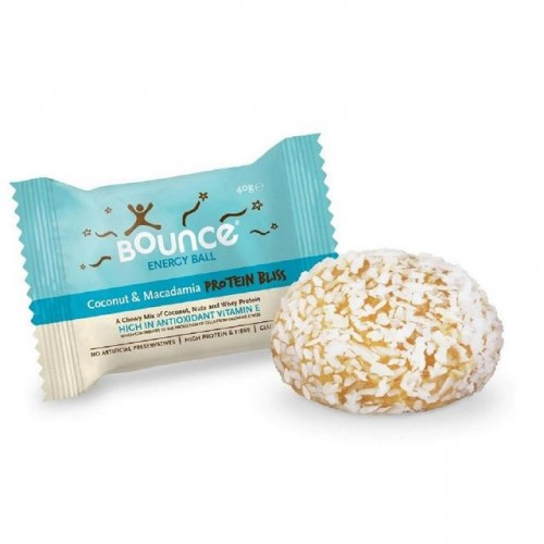 Coconut & Macadamia Ball - 40g Protein Bliss (Bounce)