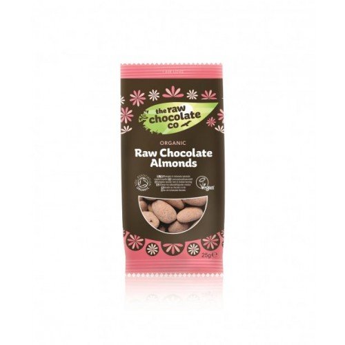 Almonds Chocolate Covered (organic) 25g