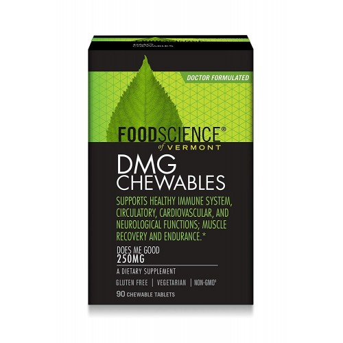 DMG - 90 Chewables (250mg) FoodScience of Vermont