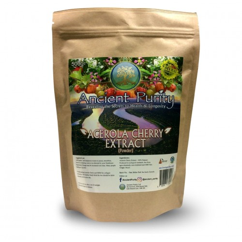 Acerola Cherry Extract (Natural Vitamin C) 250/500g