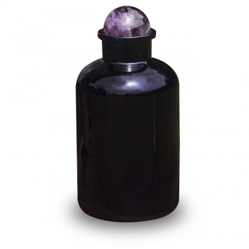 Amethyst Apothecary Jar (Miron Glass) 2L