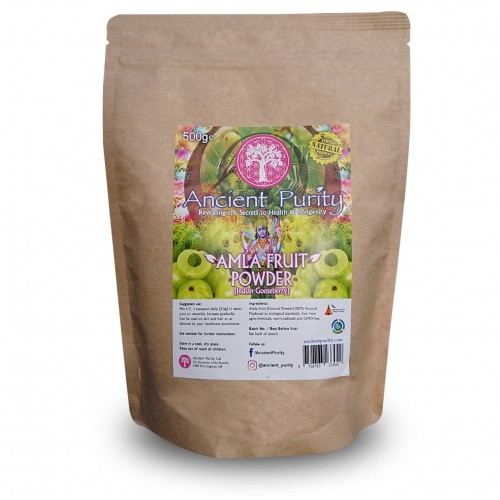 Amla Fruit Powder (Vitamin A,B,C,E,K) 250/500g