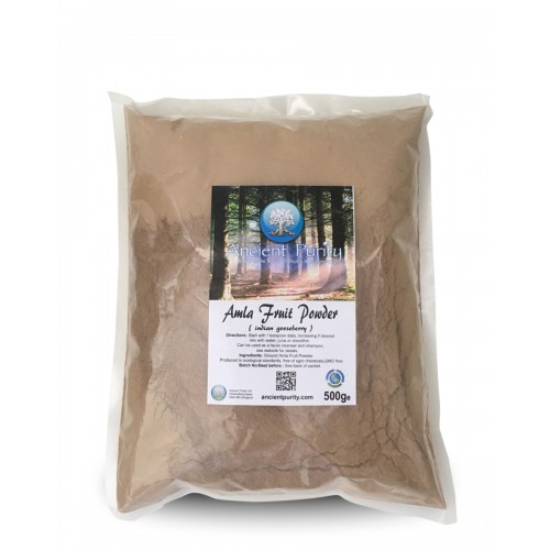 Amla Fruit Powder - 500g (Indian Gooseberry)