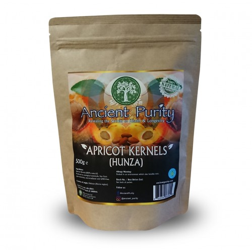 Apricot Kernels (Hunza) Bitter 250/500g