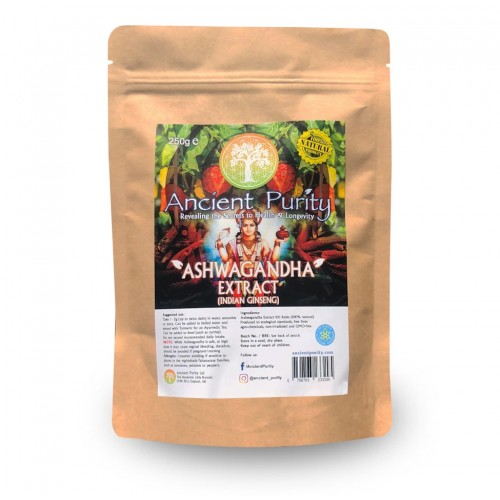 Ashwagandha (Extract) Indian Ginseng (Hair/Mind/Brain) 125/250g