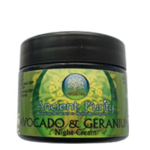 Avocado Night Cream - 50ml (with Geranium)