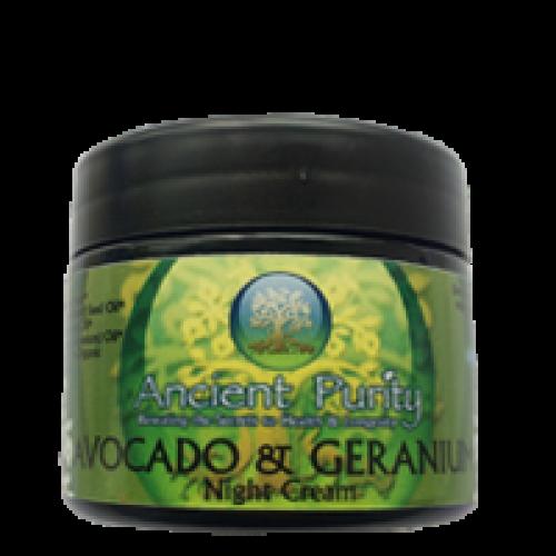 Avocado Night Cream - 50ml (with Geranium)