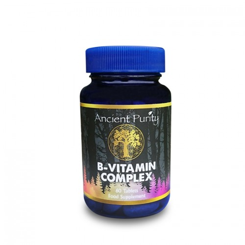 B Vitamin Complex (Food State) + Synergistic Nutrients - 60 Tabs