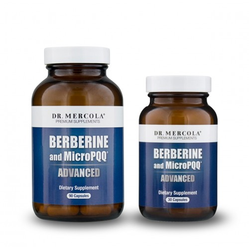 Berberine & MicroPQQ Advanced (Dr Mercola) 30/90 Caps