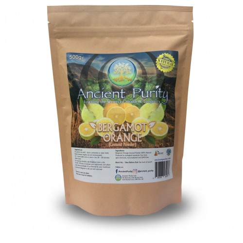 Bergamot Orange Powder (Heart/Cholesterol/Arteries) 250/500g