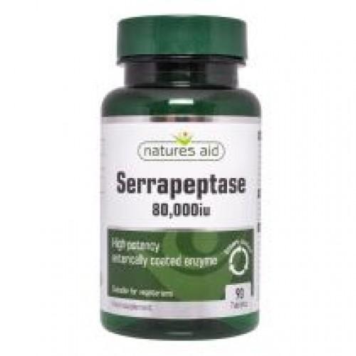 Serrapeptase 80,000iu 90 Tablets + 30 FREE (120)