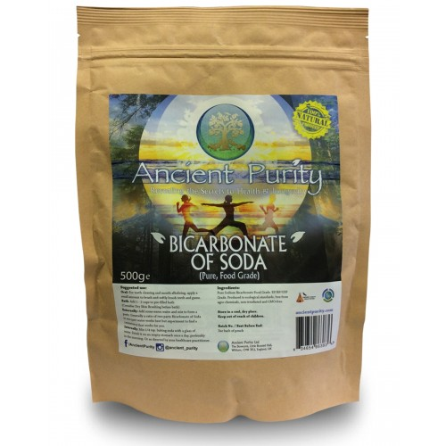 Bicarbonate of Soda (Pure Food-Grade) 500g
