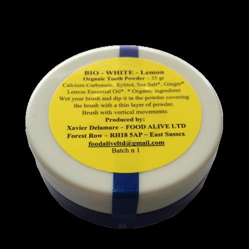 Tooth Powder - Lemon (Teeth Whitening)