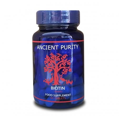 Biotin 4000 iu - 60 Tablets (Food State)