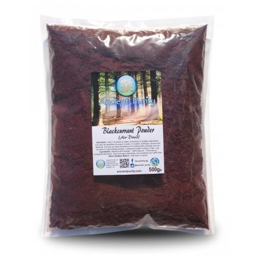 Blackcurrant Powder (Slow Air Dried) 500g