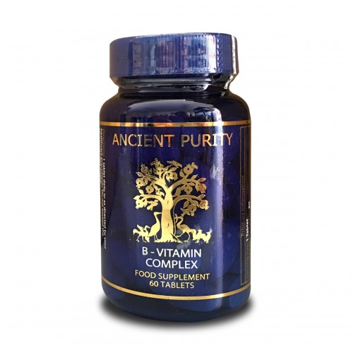 B Vitamins Complex - 60 Tablets (Food Based)